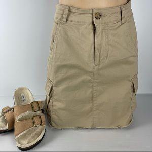 COTTON ON Size 6 Cargo Hem Edge Pocket Skirt